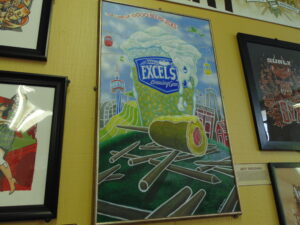 Jeff Troldahl's State Fair inspired art work.